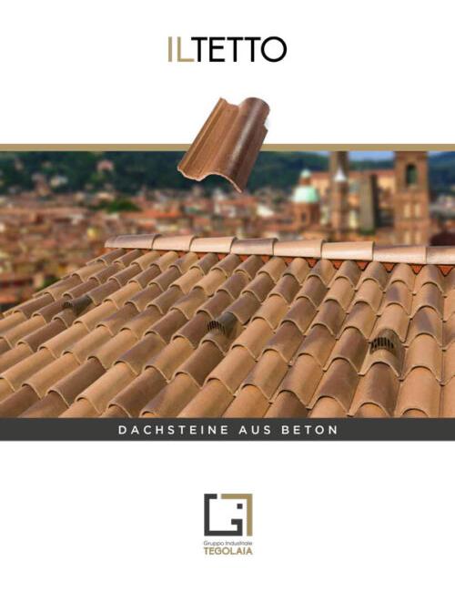 Dachsteine aus beton