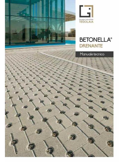 Betonella Drenante - manuale tecnico
